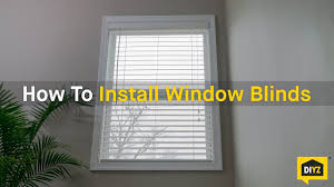 easy fix window blinds how to install window blinds howtos