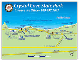 Cal State Map by How To Find The Park Crystal Cove