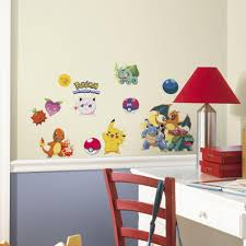 roommates 5 in x 11 5 in pokemon iconic peel and stick wall pokemon iconic peel and stick wall decal