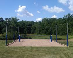 volleyball court enclosure