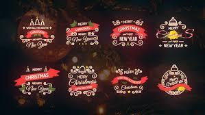 christmas titles holidays after effects templates f5 design com