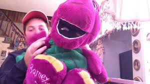 boneka talking barney youtube