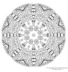 Mandala 6  Mandalas  Coloriages difficiles pour adultes
