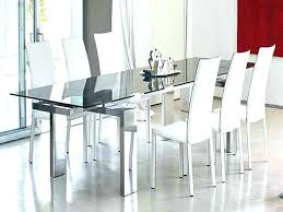 Glass Top Dining Room Table Sets Modern Glass Dining Room Sets Image Of Modern Glass Dining Room