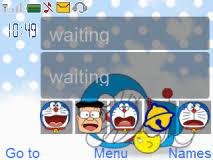 download themes doraemon doraemon mobile themes for nokia asha 210