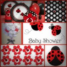 ladybug baby shower favors baby shower ideas for ladybug theme ladybugcollage baby shower diy