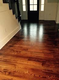 Wood Flooring Varnish Red Oak With Warm Walnut Stain Traditional Wood Flooring