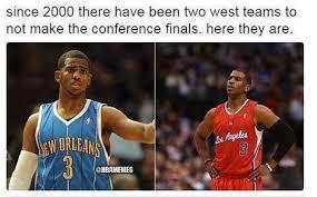 Chris Paul Memes - meme of chris paul and his conference finals drought sportige