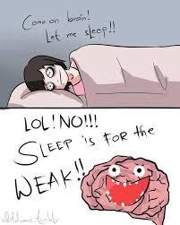 Sleep Is For The Weak Meme - we will never sleep sleep is for the weak meme by crisspy