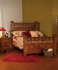 Amish Bedroom Furniture Mission Style Sequoyah Bed Amish Direct Furniture