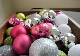 diy ornament garland my pink porch decor nourish and nestle