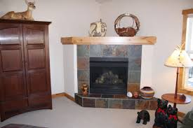 fireplace with slate tile surround design decorating interior