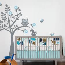stickers arbre chambre enfant chouette stickers muraux arbre arbre décalque de mur avec des