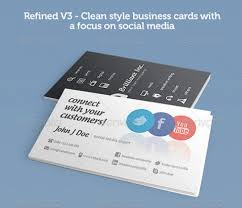 Business Cards Front And Back Great Social Media Business Card Template Fr1g5 U2013 Dayanayfreddy