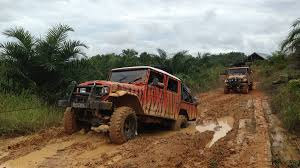 white jeep stuck in mud bbc one truck stuck in mud in sumatra monkey planet monkey