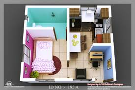 Home Interior Design For Small Houses 3d Isometric View 01 Design Pinterest Small House Plans
