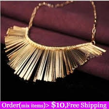 black choker necklace aliexpress images Aliexpress hot selling gold silver black gun plated tinsel tassel jpg