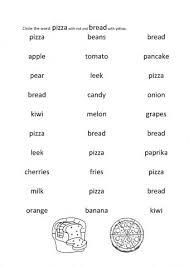 theme food and drinks worksheets english juf milou