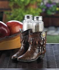 cowboy boots shaker set wholesale at koehler home decor
