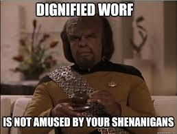 April Meme - worf anti april fools day memes
