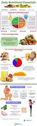 daily nutritional essentials infographic visualistan