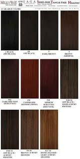 kankalone hair colors mahogany hair weave number color chart the hair tho pinterest hair