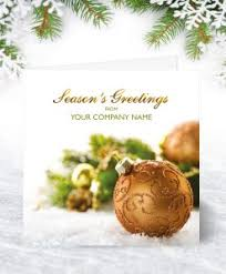 corporate collection u2013 personalised christmas cards for business