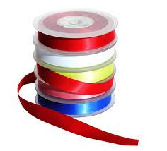 ribbon spools satin ribbon spools 5 x 20m bright ideas crafts