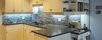 concrete tile backsplash countertops white cabinet and mosaic black tile backsplash