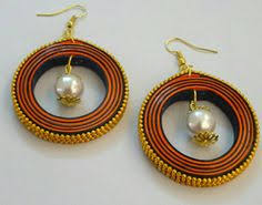 quilling earrings images traditional quilled hoop earrings creyons
