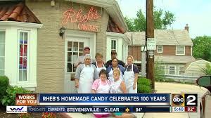 lexus of towson com rheb u0027s homemade candy celebrates 100 years youtube