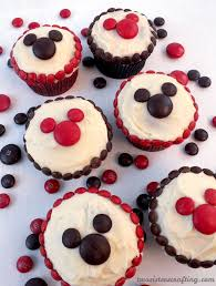 mickey mouse cupcakes m m mickey cupcakes two