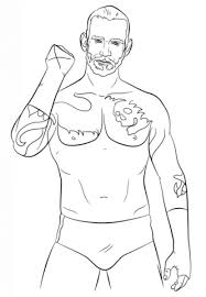 wwe cm punk coloring page free printable coloring pages