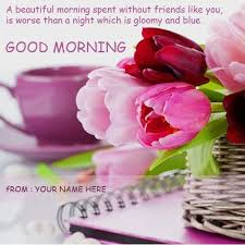 blue morning wallpapers write name on good morning quotes messages images good morning