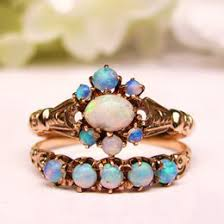 opal wedding ring sets antique opal ring ideas collections