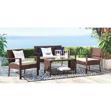 Wicker Patio Conversation Sets Patio Conversation Sets Target