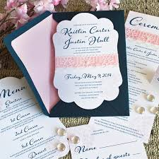 navy and blush wedding invitations gold glitter legacy loft