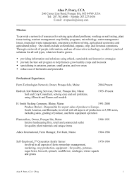sle of resume alan p perry resume 0714