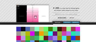 color tool color picker tools html css rgb color palettes and more