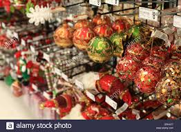 ornaments for sale in store stock photo royalty free