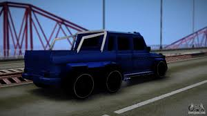 mercedes benz 6x6 mercedes benz g63 amg 6x6 for gta san andreas