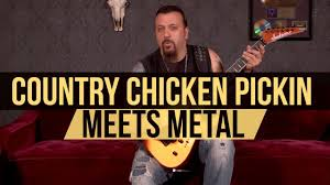 country style chicken pickin meets metal lesson with mike orlando