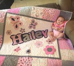custom baby quilts for sale personalized baby quilts
