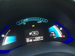 nissan leaf electric car range 116 rated range in my 2015 24kh nissan leaf youtube