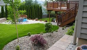 Backyard Garden Ideas For Small Yards Backyard Simple Small Backyard Landscaping Ideas Backyards