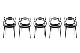 masters chair with arms by philippe starck with eugeni quitllet