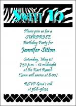 popular teen birthday party invitations for teenagers