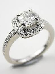 Vintage Style Cushion Cut Engagement Rings 90 Best Vintage Style Engagement Rings Topazery Images On
