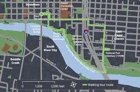 Austin Convention Center Map by Tejano Walking Trail Friday National Association Of City