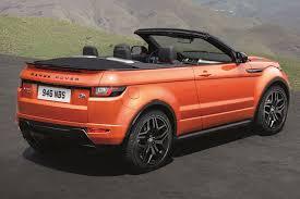orange range rover sport roofless streak range rover evoque finally goes convertible for